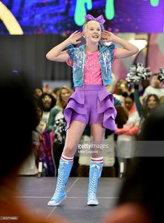 JoJo Siwa performs onstage at Nickelodeon at the Super Bowl Expereince during NFL Play 60 Kids Day on January 31, 2018 in Minneapolis, Minnesota.