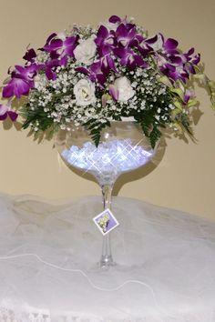 Composizione floreale creata dal Lillà Bianco Wedding and Events Planner