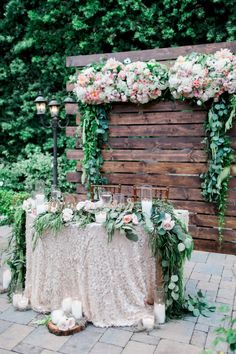 Gorgeous classic rustic outdoor garden wedding: http://www.stylemepretty.com/california-weddings/san-juan-capistrano/2016/09/23/old-world-elegance-meets-garden-romance/ Photography: Sposto - http://spostophotography.com/