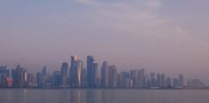 ITAP of Doha skyscrapers http://ift.tt/2hkv7I5