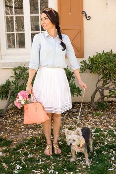 ladylike spring and summer outfit inspiration