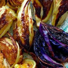 Roasted Mixed Cabbages