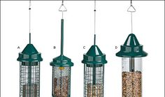 Squirrel Buster Bird Feeders - Lee Valley Tools