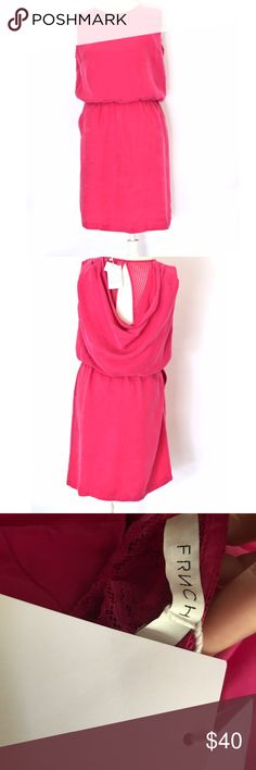 """NWT Anthropologie Pink Dress By FRNCH. New with tags. 38"""" L 22"""" pit to pit Anthropologie Dresses Mini"""