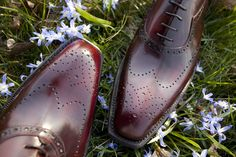 These shoes aren't just for special occasions.  They have a casual side: http://bit.ly/1C7UUoK   #TreccaniMilano #BespokeToronto #handmade #leather #madeinItaly #suede #mens #womesn #shoes #oxfords #loafers #sneakers #beris #perfectfit #individual #choices #custom #menswear #womenstyle #fashion #casual #business #grass #outdoors #summer #details #craftmenship #artisan #burgundy