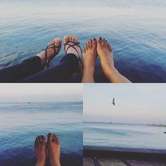 A great way to end long weekend. .. #lovelife #beachwalk #friends #happyself #easternbeach #lovegeelong by tomygirl_12 http://ift.tt/1JtS0vo