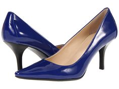 Cobalt pumps from Calvin Klein. Love this color.