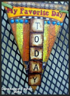Favorite Day Pennant / Art Banner