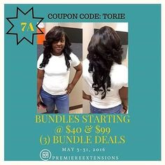 7A Human Hair Extensions STARTING @ $40 2 3 & 4 BUNDLE DEALS CLOSURES/FRONTALS WorldwideShipping WHOLESALE/PRIVATE LABEL!  Mermaid hair Tag & tell your favorite #hairstylist  & SHOP @premiereextensions http://ift.tt/1KBvaTi  #style #hairplug powered by @fitnessbodymovement  #idohair #hairsale #haircolor #isellhair #buyhair #cosmetologist #hair #hairstyles  #hairinspo #hairofday #hairofinsta #onlinestore #onlineshopping #bodywave #instashop #instaseller #beautyschool  #instaonline…