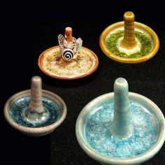 handmade pottery ideas   ... Ring Holder   Handmade Recycled Glass ...