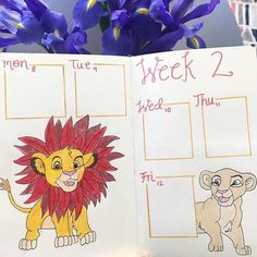 I love Disney movies so when I came across these Disney spreads I couldn't resist but want to share with you all. Here are 115 Enchanted Disney Inspired Bullet Journal Spreads and Ideas you'll totally adore. February Bullet Journal, Bullet Journal School, Bullet Journal Spread, Bullet Journal Ideas Pages, Disney Up, Bujo, Toy Story Slinky, The Great Mouse Detective, Disney Planner