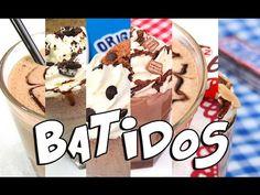 6 Batidos Fáciles Rápidos y Deliciosos! (Recopilación) - YouTube