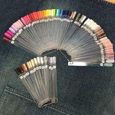 サロンで使用の色一覧