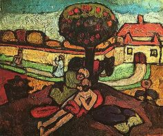 Paula Modersohn-Becker — Le bon samaritain - 1907