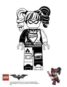 Lego Batman Colouring Pages
