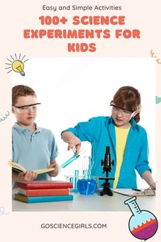 Check out this massive collection free and fun science experiments / STEM activities for your kids to try at home or at school. Physics Projects, Chemistry Projects, Science Fair Projects, Projects For Kids, 100 Fun, Christian Kids, Cool Science Experiments, Science Activities, Homeschool