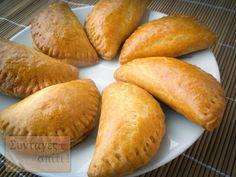 Τυροπιτάκια με σπιτική ζύμη κουρού - Νόστιμες Συνταγές Kitchen Hacks, Biscotti, Sweet Potato, Brunch, Cooking Recipes, Sweets, Bread, Snacks, Food And Drink