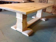 Harvest Dining Tables - Trestle, Pedestal, Barn Beam Trestle, Live Edge, X Leg, Shaker, Turned Legs, Steel Legs, Benches, Cabinets