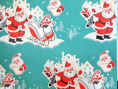 Vintage Christmas Wrapping