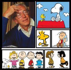 Charles Schultz & The Peanuts Gang... Follow me & The Gang :)  https://www.pinterest.com/plzmrwizard67/