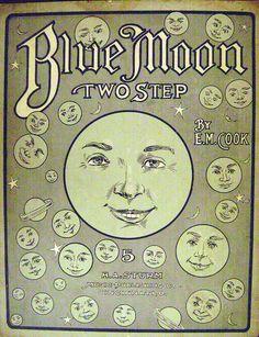 Blue Moon Paper Moon