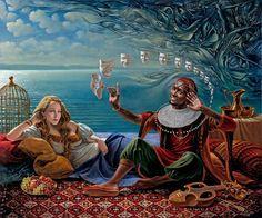 Lullaby For Desdemona II / Michael Chavel / Sürrealist Ressam / Surrealistic oil painter