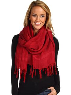 i search love quotes and i get scarves so here's a scarf! - Linen Hand Knotted Tassel   Zappos