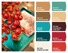 Instantly turn any picture into a palette with ColorSnap, created for you by Sherwin-Williams. Bathroom Paint Colors, Interior Paint Colors, Paint Colors For Home, Red Paint Colors, Room Colors, House Colors, Colorful Decor, Colorful Interiors, Paint Color Schemes