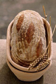 Pain au Levain (wheat bread with sourdough) My Baked Goods Pain Au Levain, Bread Shaping, Rustic Bread, Our Daily Bread, Pan Bread, Bread And Pastries, Fresh Bread, Pie Dessert, Sourdough Bread