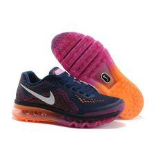 free shipping b4597 c42e7  60.97 red air max women,Free Shipping Nike Air Max 2014 Women Deep blue  Purple