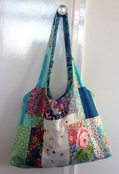 gorgeous patchwork bag (with tutorial here: http://mollychicken.blogs.com/my_weblog/tutorials/)
