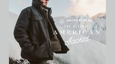 Your new cold weather essential: A winter jacket made entirely in the USA and insulated with bison fiber