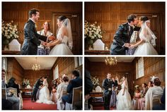 Wedding photography at Gosfield Hall. Jason and Sarah with ceremony by Katie Deverell
