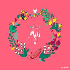 """Bonjour joli mois de mai où l'on fait ce qu'il nous plaît, au moins le temps des jours fériés qui rallongent les week-ends <3 span=""""""""> ..."""
