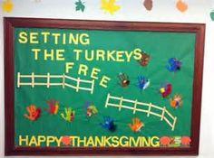 Great Thanksgiving bulletin board