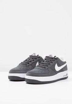 Chaussures Nike Sportswear AIR FORCE 1 - Baskets basses - anthracite/white gris: 75,00 € chez Zalando (au 02/02/17). Livraison et retours gratuits et service client gratuit au 0800 915 207.