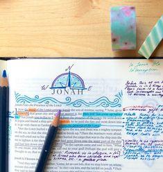 Bible Journaling Headers: How I Make Book Headers in My Bible