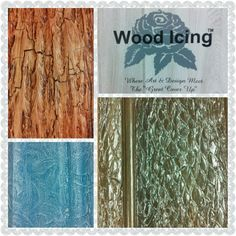 Wood Icing technique samples