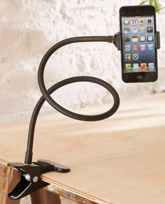 A gooseneck phone holder ($15) makes it easy to read articles or watch Netflix in bed, hands-free.