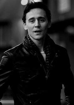 I love that he was given Loki's scarf for his birthday and that he wears it a lot.