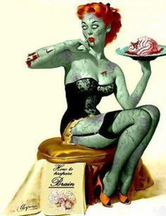 zombie psychobilly girl~