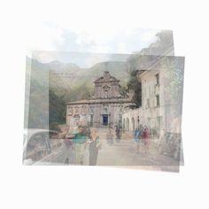 Galerie Piece Unique - Abbazia della SS Trinita Facciata  19st century-1912-2012   cm 30 x 30 - Digital print on Dibond, Edition of 7  MAS 031