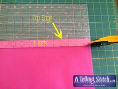 Cut strap-logo