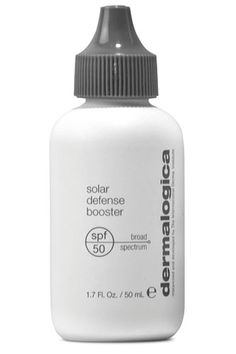 put sunscreen into your favorite moisturizer with just a few drops! amazing!!! Dermalogica Solar Defense Booster SPF 50