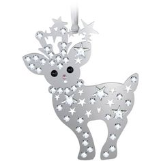 Swarovski Crystal 2013 Baby Reindeer Christmas Ornament >>> Read more at the image link.