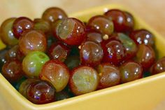 Try this unusual but delicious recipe for pickling grapes