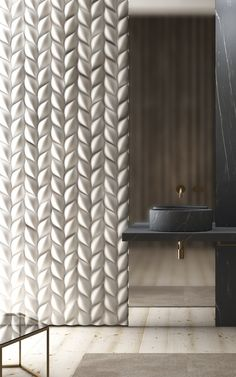 3D Wall Panel TRECCIA - @3dsurface