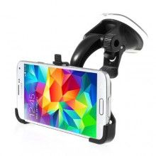 Support Voiture Samsung Galaxy S5 Fixation Ventouse Noir 9,99 €