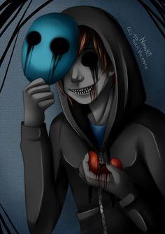 Eyeless Jack takes off his mask