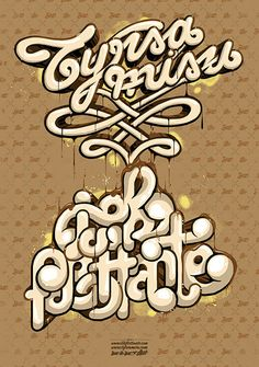 Typography Graphic Illustrations